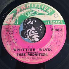 Thee Midniters - Evil Love b/w Whittier Blvd - Whittier #684 - Chicano Soul - Northern Soul - Garage Rock