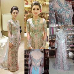 kebaya anne avantie pastel - Google Search