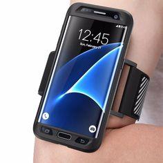 Samsung Galaxy S7 Edge SUPCASE Easy Fitting Sport Running Armband Premium Case…