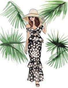 Johanna Ortiz - Ilustración de Moda - Fashion Illustration