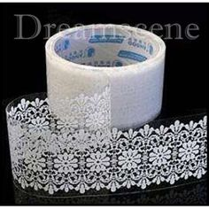 White Lace Adhesive Tape