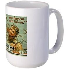Historic War Bond Mug http://www.cafepress.com/historicmugs.971673321