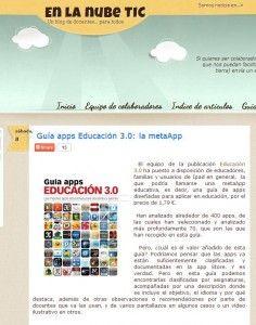 En la nube TIC Guía apps Educación 3.0