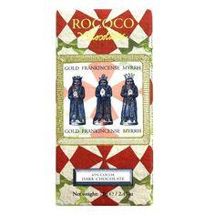 Gold, Frankincense & Myrrh Dark Chocolate Artisan Bar