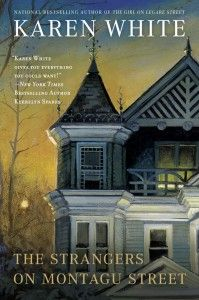 Southern Literature Month 2014: the 3rd book in the Tradd Street series, Southern chick lit with some ghosts and spirits set in historic Charleston http://www.sarahsbookshelves.com/fiction/book-review-southern-literature-month-the-strangers-on-montagu-street-by-karen-white/