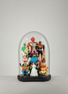Lucas Mongiello   A R T N A U - great toy display idea