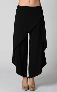 buyinvite.com.au - a.Wrap Around Pant-RR-Pant3098-Black: