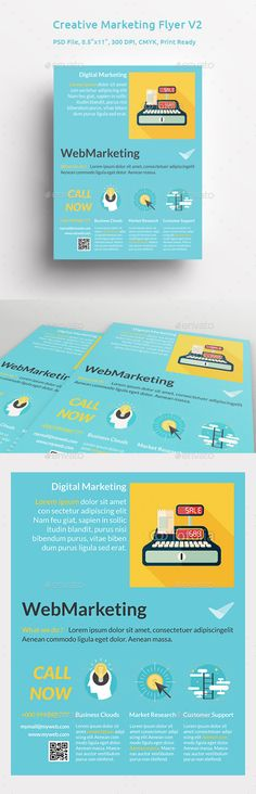 marketing flyers templates
