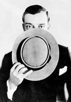 Buster Keaton, the great stone face.