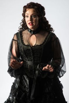 "Melinda Pfundstein as Olivia in Utah Shakespeare Festival's 2014 production of ""Twelfth Night."" (Photo by Karl Hugh. Copyright 2014 Utah Shakespeare Festival.) www.bard.org"