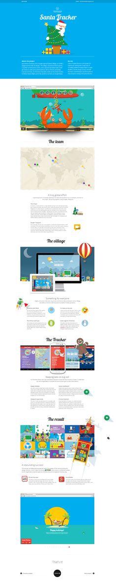 Case study for Google Santa Tracker