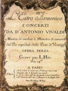 """Classic Musica: """"Antonio Vivaldi"""""""
