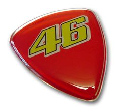 Doming 3D Sticker Etiketten 46 Valentino Rossi