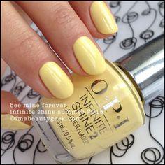 OPI Bee Mine Forever – OPI Infinite Shine Summer 2015