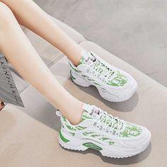 Women's #white green casual shoe #sneakers label & camo pattern design Green Shoes, Shoe Shop, Nike Huarache, Casual Shoes, Camo, Running Shoes, Shoes Sneakers, Pattern Design, Label