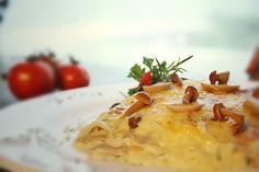 Lasagna de cogumelos