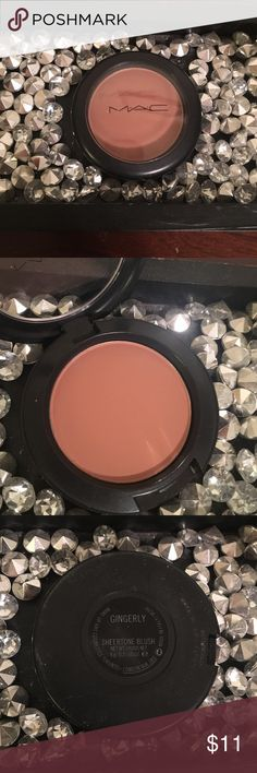 Mac Gingerly Authentic Mac sheertone blush, impulse bought a few of their blushes and have only used once. ❤️ MAC Cosmetics Makeup Blush