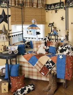 Texas baby boy nursery...  :)
