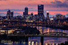 pittsburgh | Pittsburgh Skyline from Greenfield
