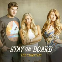 Taylor, Madison and Logan, better known as The Cains Trio, is a brother and sister trio hailing from the state of Alabama. Their first album Stay On Board was released in early October and their fi...