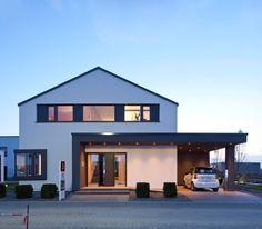 Beautiful houses outside