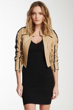 Stella & Jami Leather Galo Jacket by Stella & Jamie on @HauteLook