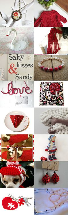 lovely red red by SEVGİ BAYKAL on Etsy--Pinned with TreasuryPin.com #Estyhandmade #giftideas #freshfinds