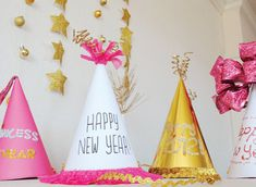 New Year's Eve Party Hats To Add Some Fun To Your Big Bash - bring these to our Noon Year's Eve Ball!