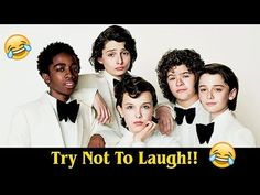 STRANGER THINGS CAST ULTIMATE FUNNY MOMENTS! - YouTube