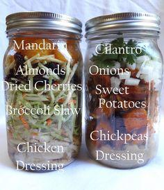 How to Make Mason Jar Meals: Part 1 | Big Red Kitchen - a regular gathering of distinguished guests
