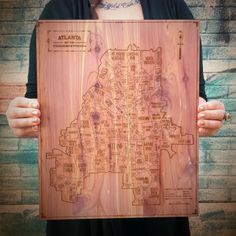 Atlanta map! i adore this!!