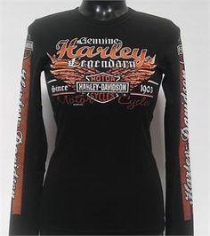 San Diego Harley-Davidson® Women's Genuine Legend Long Sleeve T-Shirt R000258