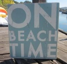 On Beach Time