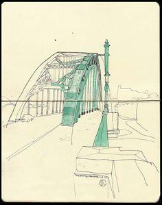 Puente en perspectiva