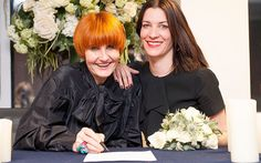 Mary Portas and Alison Cathcart convert their civil partnership to marriage - Congrats! Re-pinned by Woolton & Hewitt specialists in gay & lesbian engagement & wedding rings www.wooltonandhewitt.co.uk