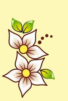Native Beading Patterns, Beadwork Designs, Hand Embroidery Flowers, Embroidery Flowers Pattern, Bead Loom Patterns, Easy Flower Painting, Flower Art, Stencil Painting, Fabric Painting