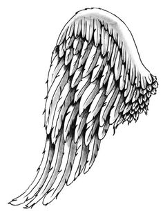 "Tattoo for me meaning ""noone can bring me down cuz ill always fly"" ill always have wings on my back Angel Wings Tattoo On Back, Wing Tattoos On Back, Back Tattoo, Angel Wings Painting, Angel Art, Angel Wings Drawing, Tattoo Drawings, Art Drawings, Tattoo No Peito"