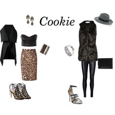 Cookie Style by carpools2cocktails on Polyvore featuring Funlayo Deri, Sid Neigum, ESCADA, Vero Moda, Alexandre Birman, BCBGMAXAZRIA, Bally, Yves Saint Laurent, Heidi Daus and Warehouse