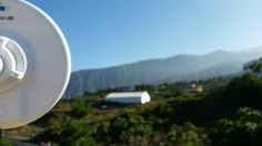Instalación #WiFiCanarias #AirInternet en Arafo, #Tenerife #ubiquiti #nanoBeam M19
