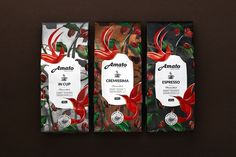 Amato Coffee — The Dieline | Packaging & Branding Design & Innovation News