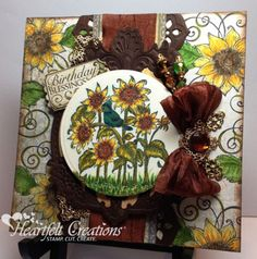 Heartfelt Creations | Sunflower Birthday Blessings  One of my favorite collections!