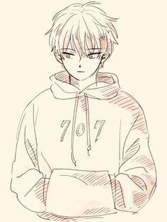 Anime Boy Base, Anime Child, Cute Anime Boy, Anime Boy Sketch, Chibi Sketch, Anime Drawings Sketches, Cute Boy Drawing, Persona Anime, Yandere Boy