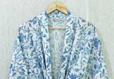 Cotton Kimono, Floral Kimono, Cotton Fabric, Cotton Bag, Winter Kimono, Cotton Nightwear, Kimono Design, Night Suit, Night Wear