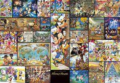 DG-2000-533 Tenyo Disney Japan Jigsaw Puzzles Mickey Mouse Gyutto