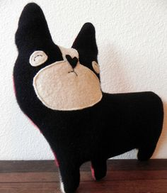 french bulldog plush pillow