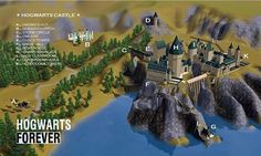 Hogwarts' Arhitect Harry Potter World for Sims 3 *Fixed Hogwarts Forever 2.0 - Sims 3 Downloads CC Caboodle.  I've gotta go look for this!