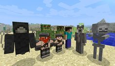More Players Models Mod para Minecraft 1.4.5