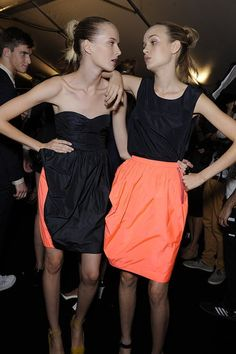 gross. they need to eat but I really want that skirt!!