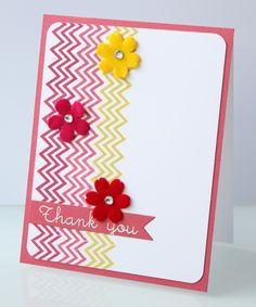 Erin: Simon Says Stamp | August Card Kit I want the Chevron stamp!!!
