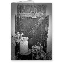 This is a photograph of the back gate at the home of Anne Rhodes in Alamogordo, NM. Where one door opens.... Add your own favorite quote or theme with this design.